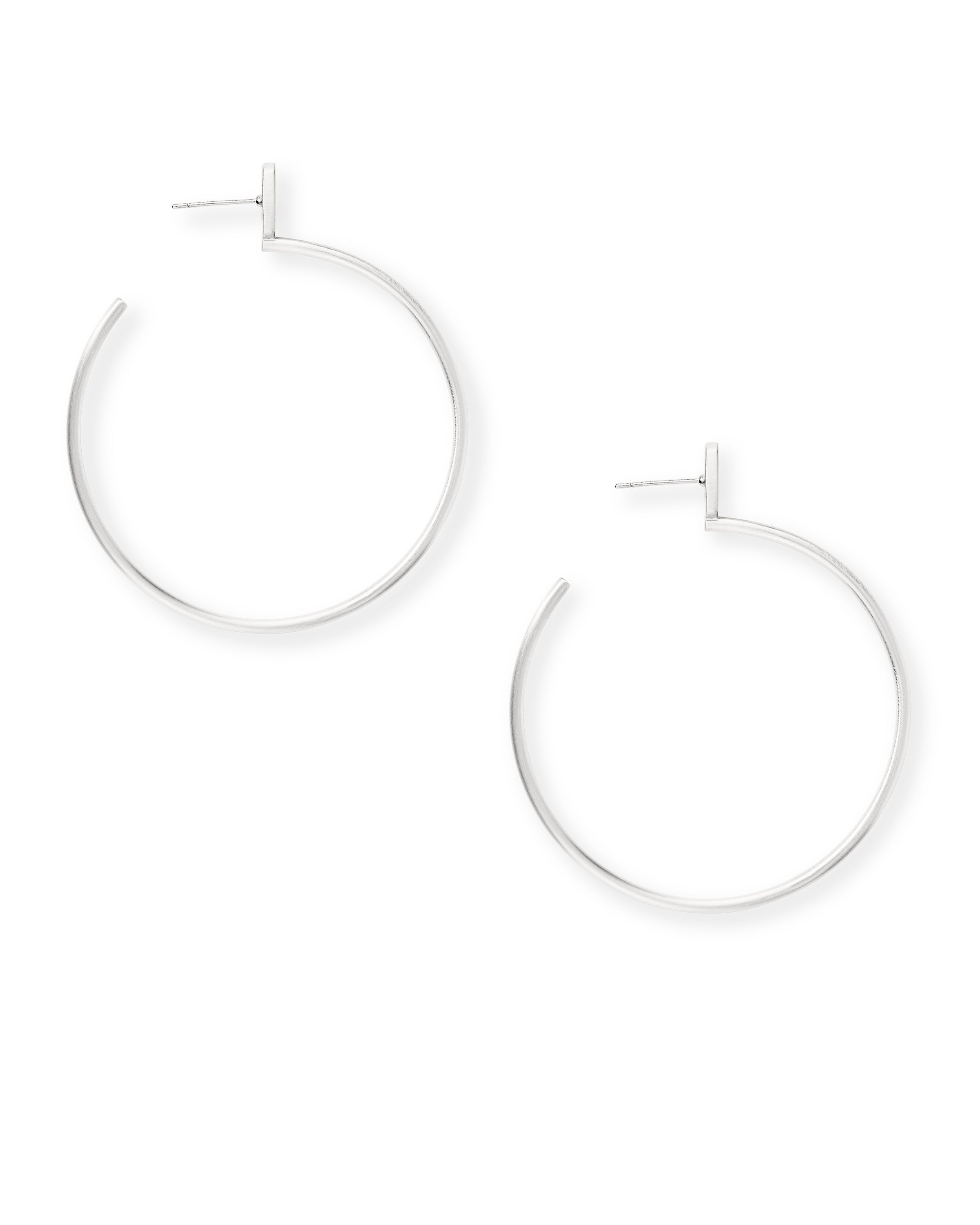 Kendra Scott Pepper Earrings in Bright Silver