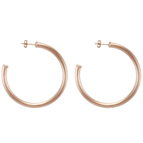 SHEILA FAJL Smaller Everybody's Favorite Hoop in Rose Gold