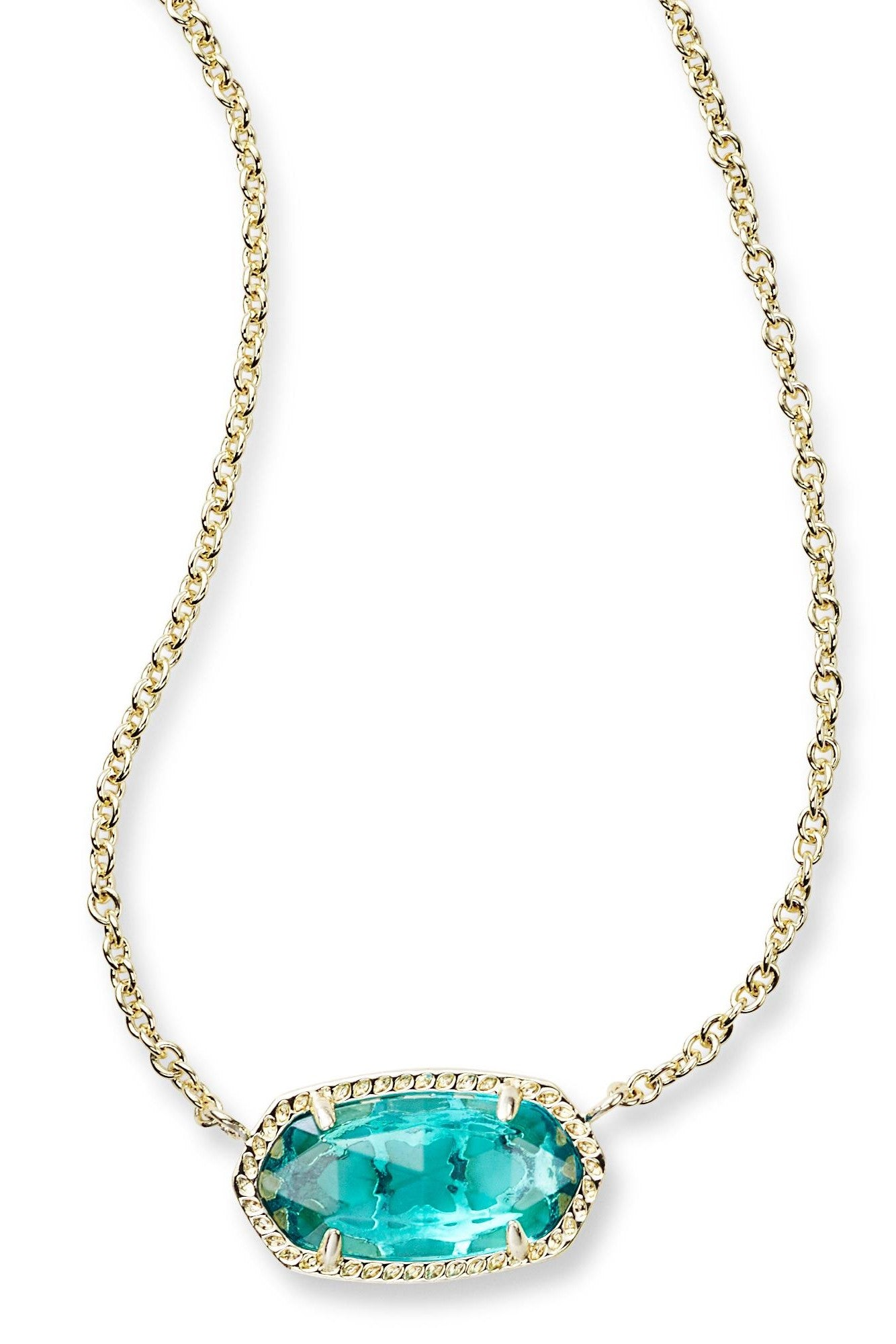 Kendra Scot Elisa Pendant Necklace In London Blue
