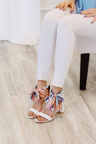 Fashion Week White Heels