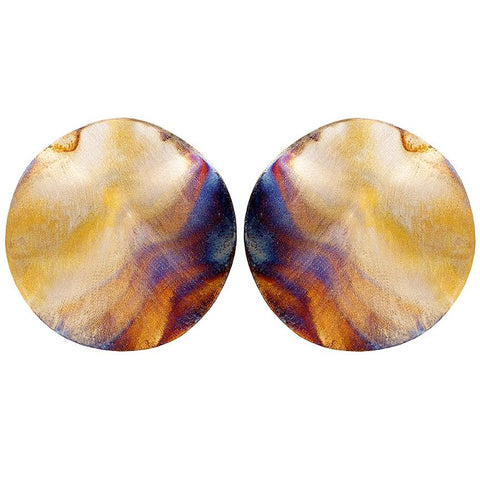 Sheila Fajl Burnished Isla Earrings