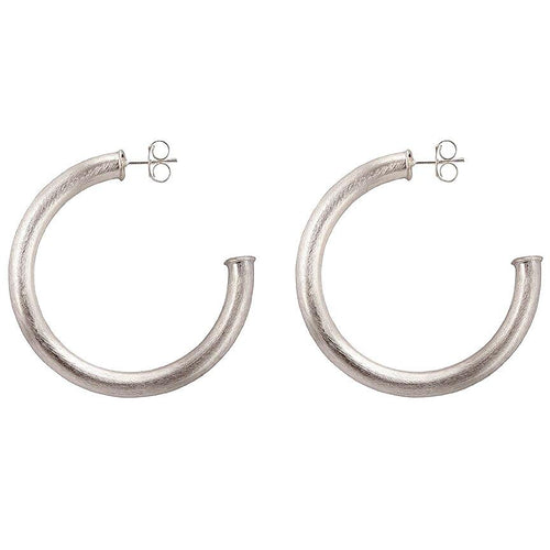 Sheila Fajl Small Arlene Hoops in Silver