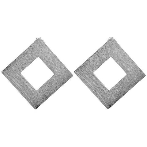 Sheila Fajl Seline Stud Earrings in Silver