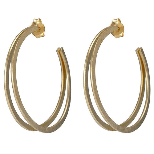 Sheila Fajl Filipa Hoop in Gold