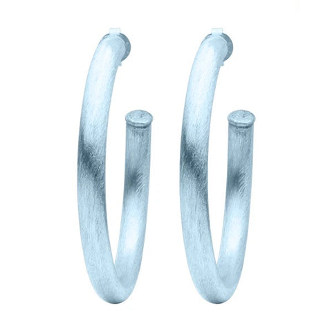 Sheila Fajl Ice Arlene Hoop Earrings