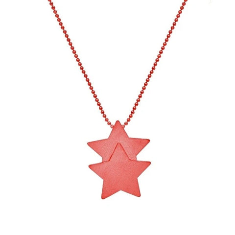 Sheila Fajl Red Castor Necklace