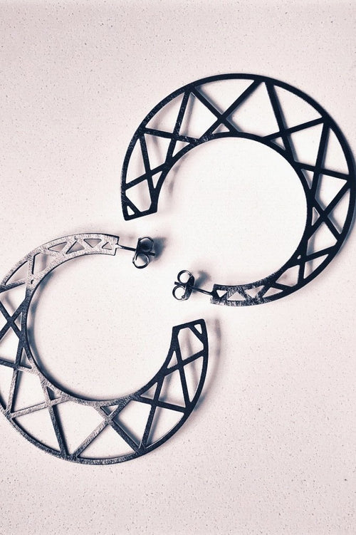 Sheila Fajl Criss Cross Hoops