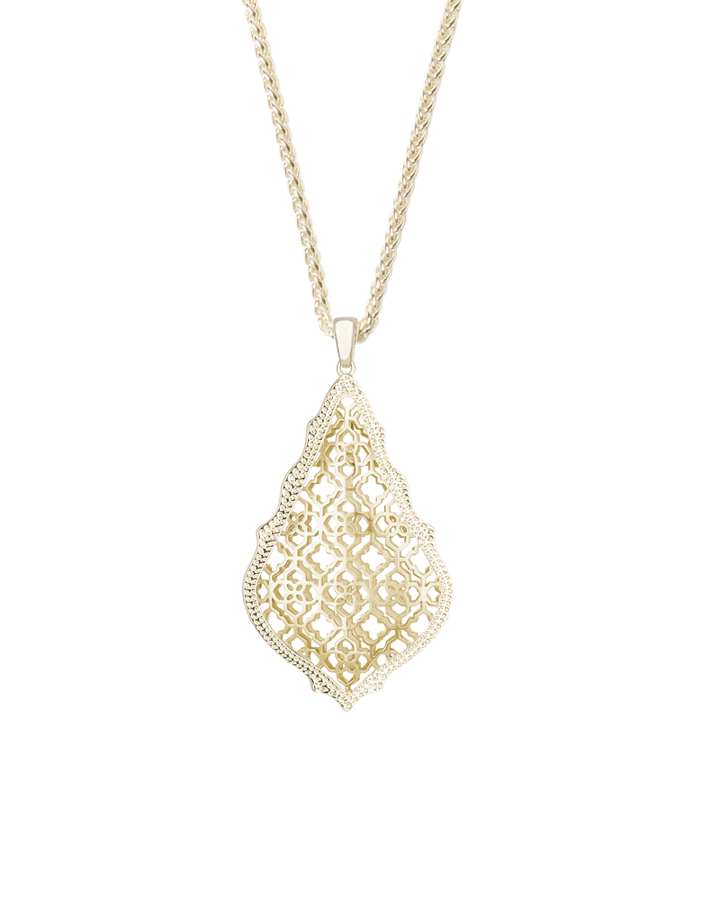 Kendra Scott Aiden Necklace In Gold – MARY & MAK
