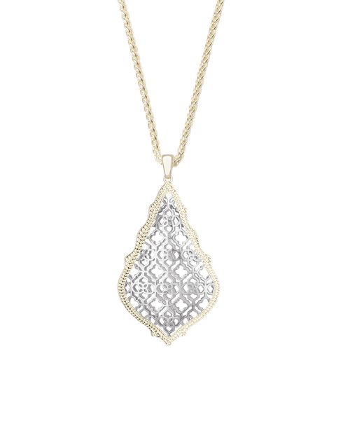 Kendra Scott Aiden Necklace In Silver and Gold