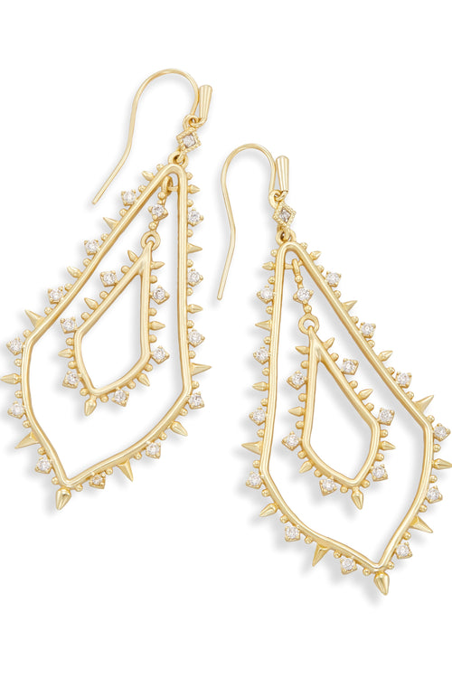 Kendra Scott Alice Earrings In Gold