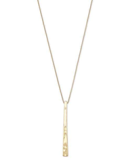 Kendra Scott Zorte Long Pendant Necklace in Gold