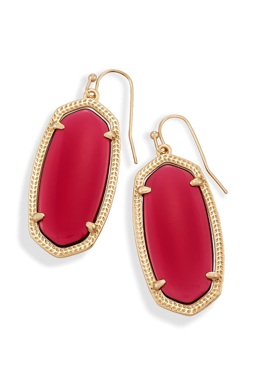 Kendra Scott Elle Earrings in Clear Berry
