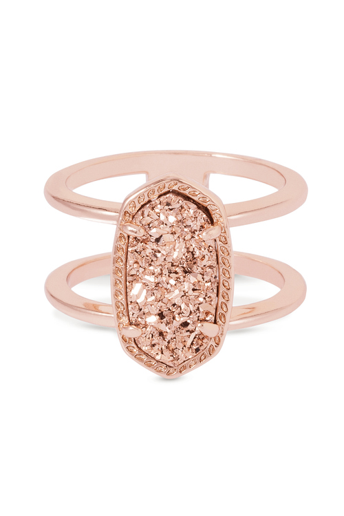 Kendra Scott Elyse Ring In Rose Gold