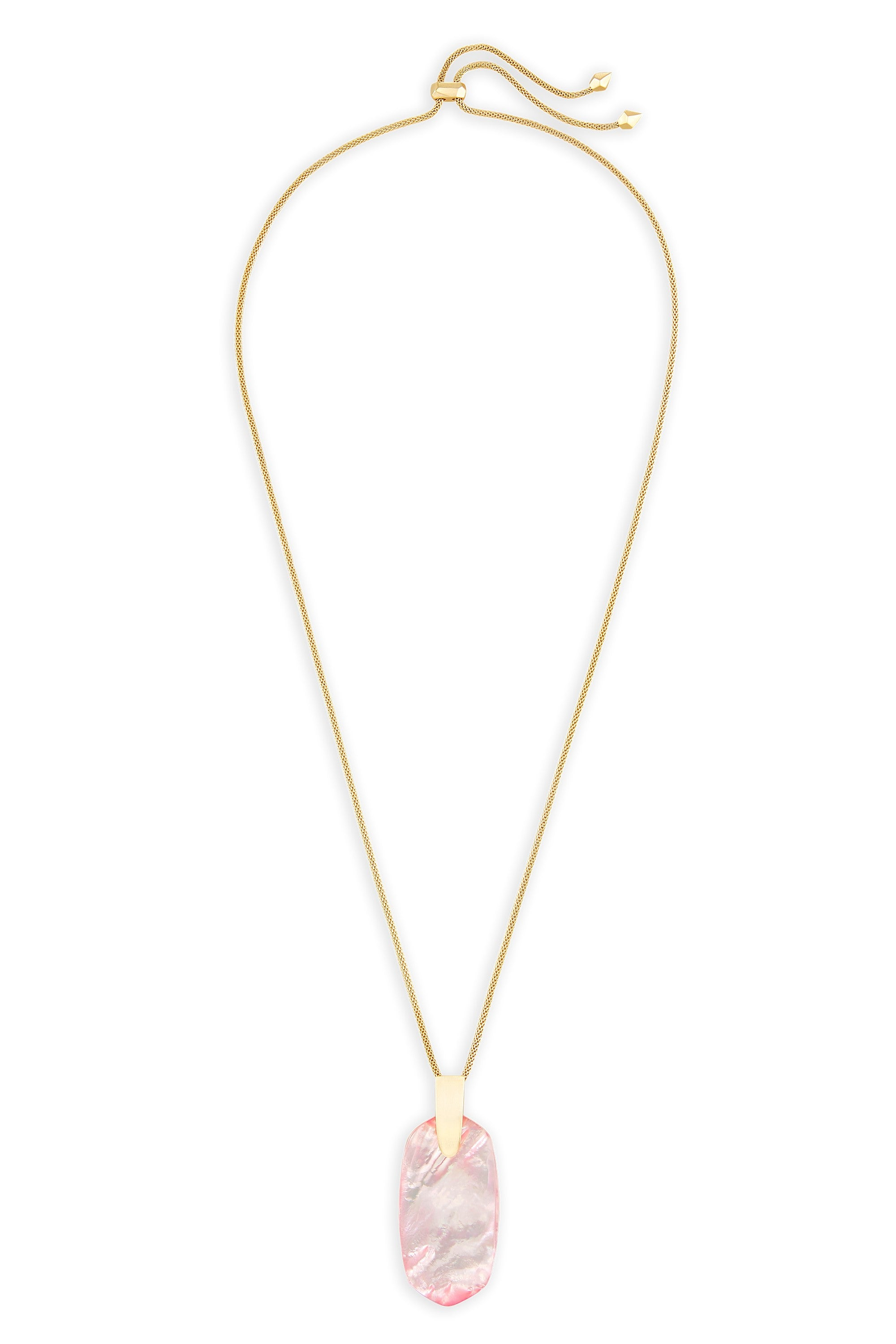 products necklace leaf lariat blush jewellery zu collection