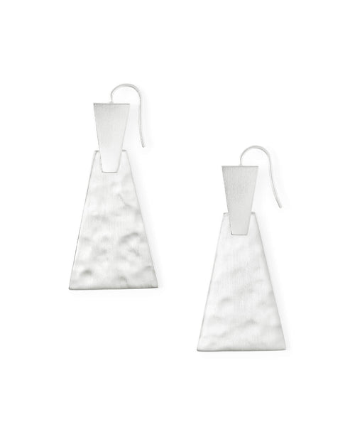 Kendra Scott Keerti Drop Earrings In Bright Silver
