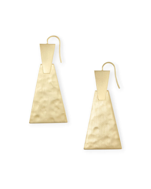 Kendra Scott Keerti Drop Earrings In Gold