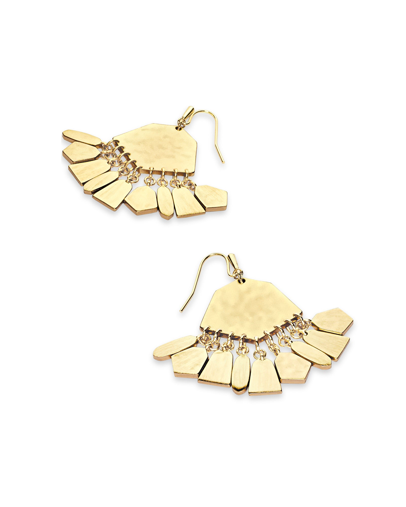 Kendra Scott Liz Statement Earrings In Gold