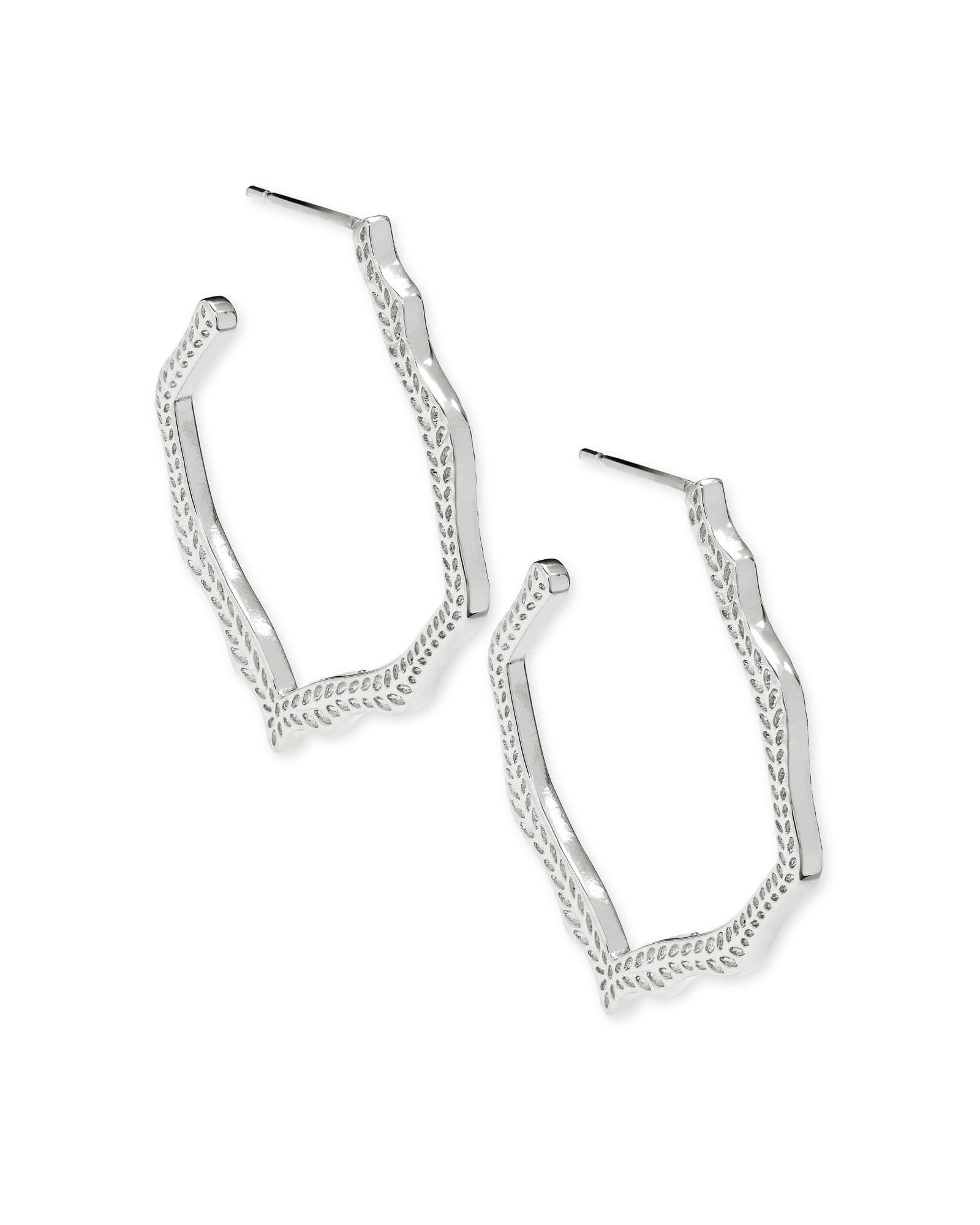Kendra Scott Miku Earrings in Silver