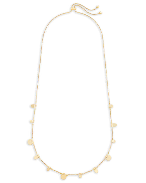 Kendra Scott Olive Long Necklace In Gold