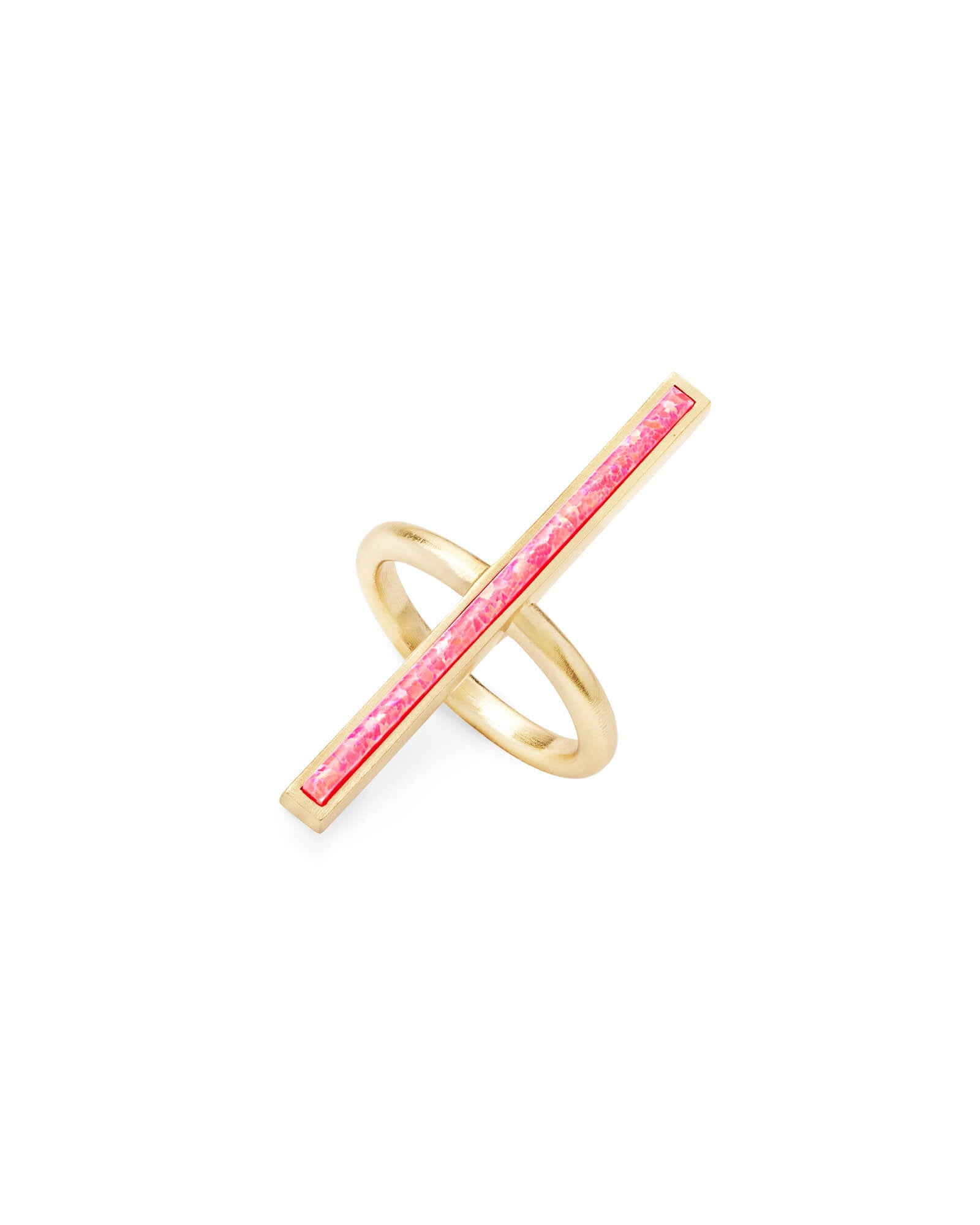 Kendra Scott Reggie Cocktail Ring in Hot Pink Opal