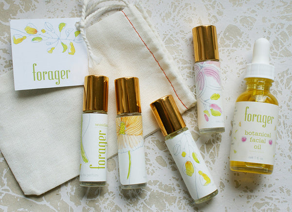 Forager Natural Perfume & Facial Oil Collection
