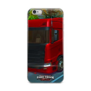 Euro Truck Driver 2018 iPhone Case