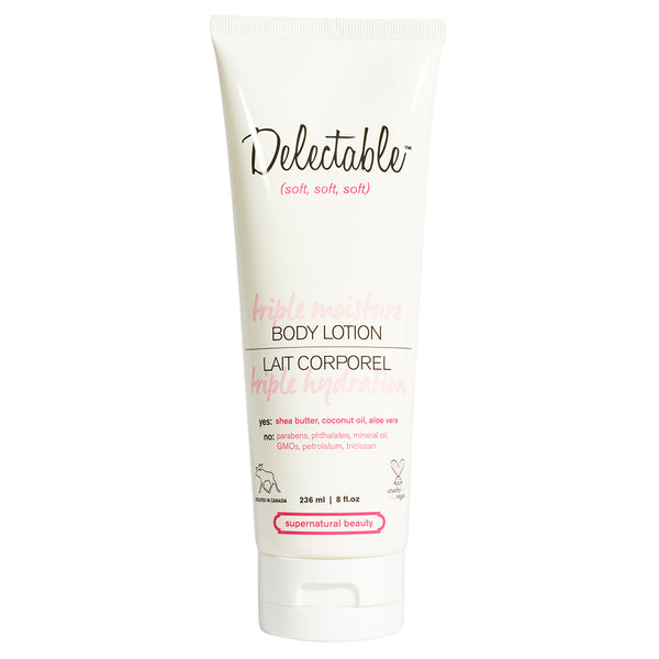 Delectable Coconut Body Lotion | Hydrate Dry Skin | Coconut Oil