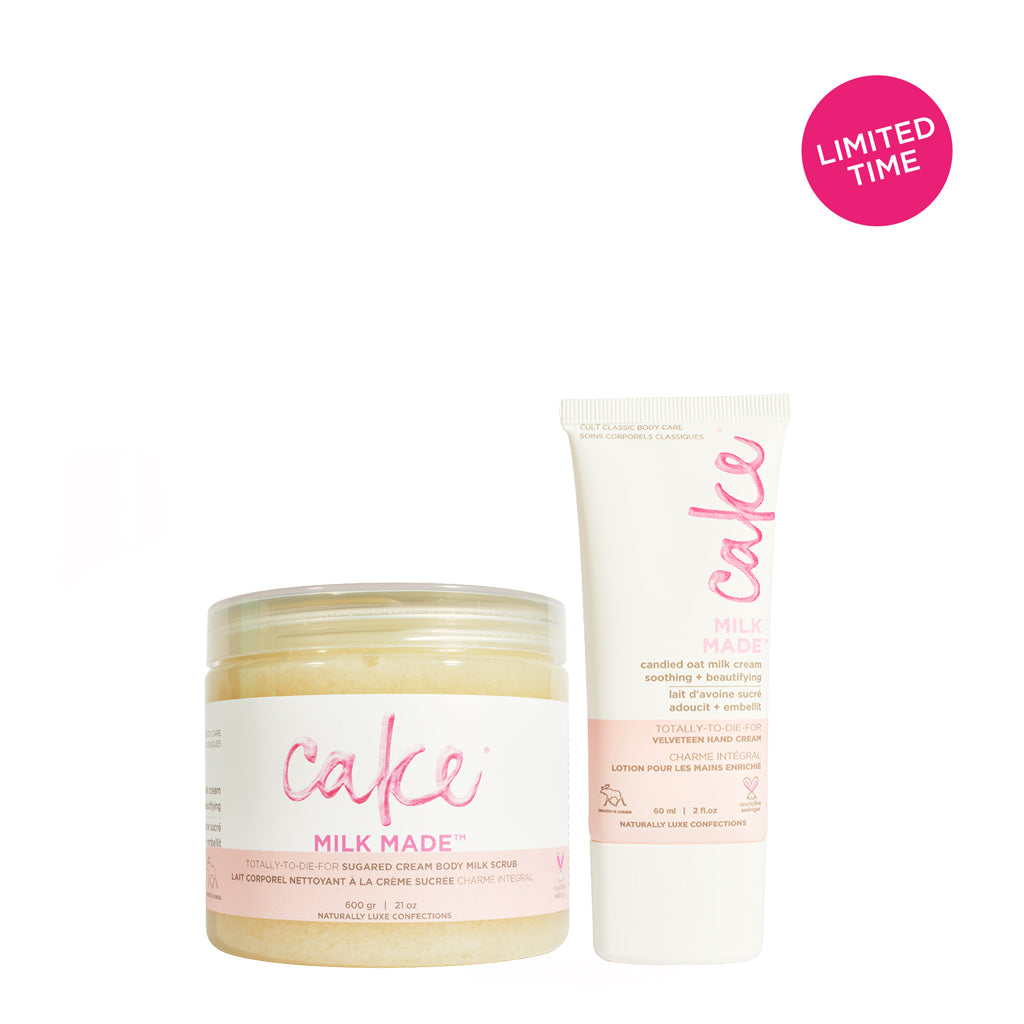 Cake Milk Made Bundle | Scrub and Hand Cream