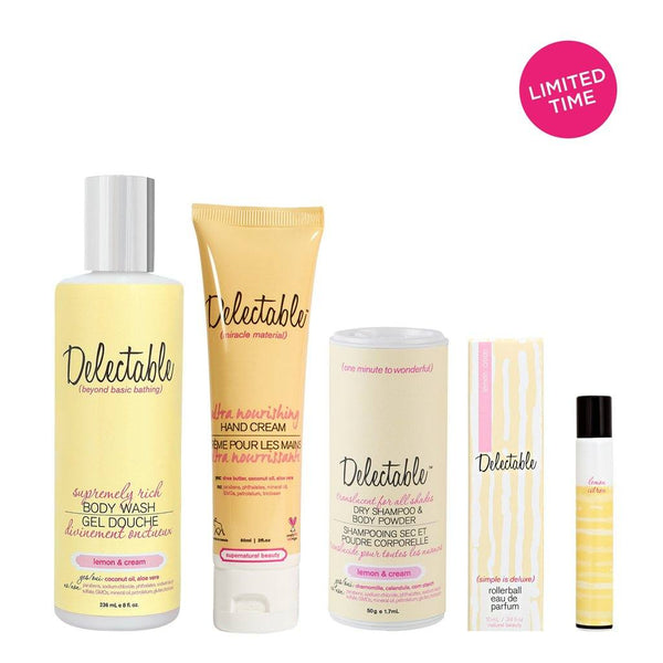 Bath And Body - When Life Gives You Lemons <BR> Body Care Set