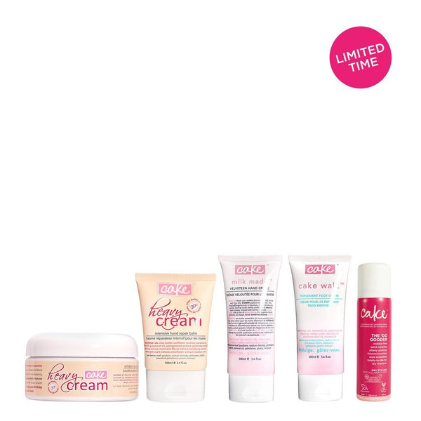 Cake Body - The Prix Fixe <BR> Classic Body Care Kit