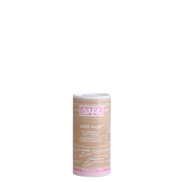 Cake Tinted Dry Shampoo Powder Travel Size for Light Hair - Vegan Cruelty Free Natural Beauty