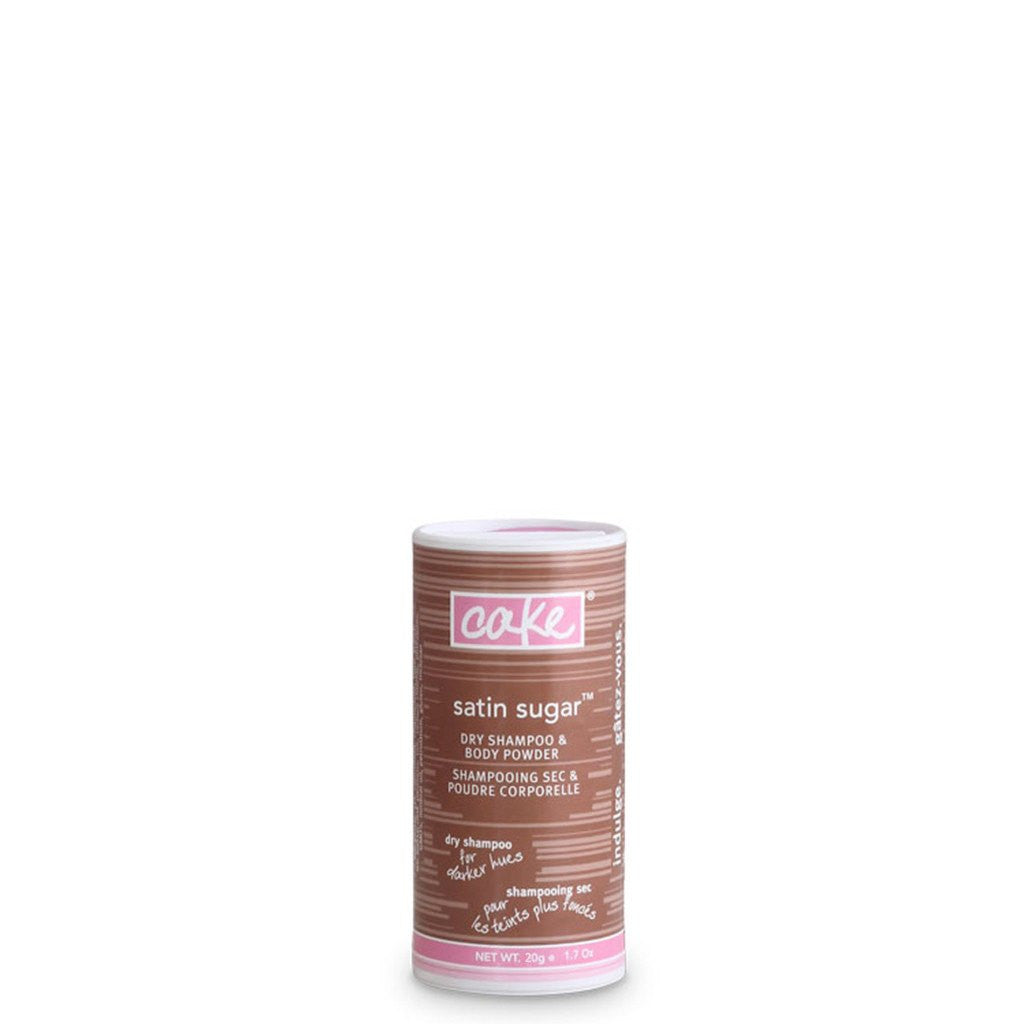Cake Tinted Dry Shampoo Powder Travel Size for Medium Hair - Vegan Cruelty Free Natural Beauty