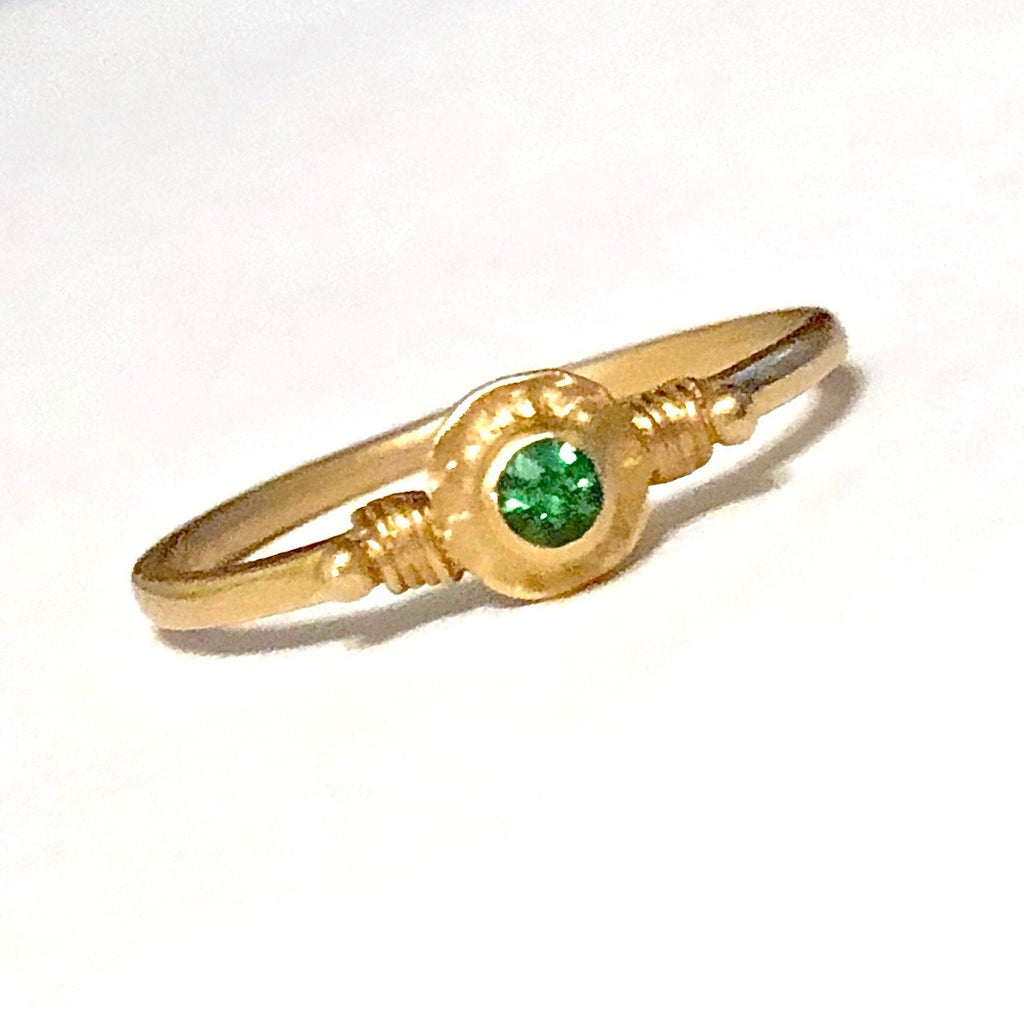 tsavorite rings garnet laurie gold product sarah white designs style half in eternity