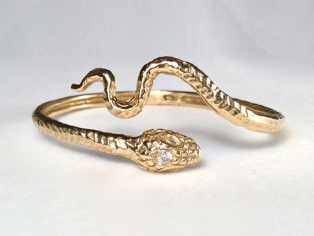 Snake Ring, Tail Under Mouth