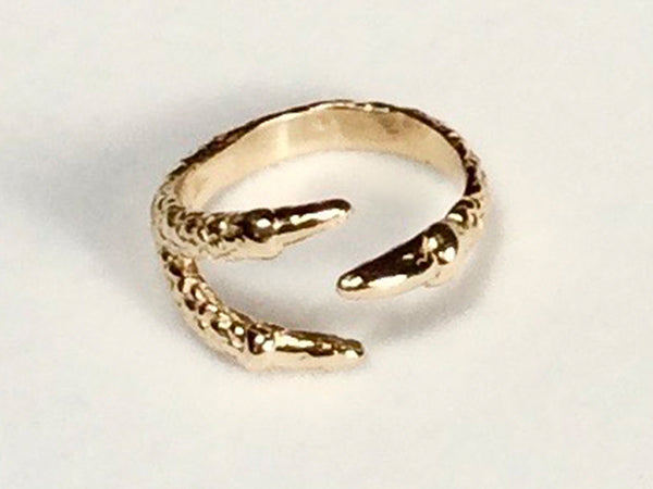 Talon ring, claw ring, Dragon Talon ring