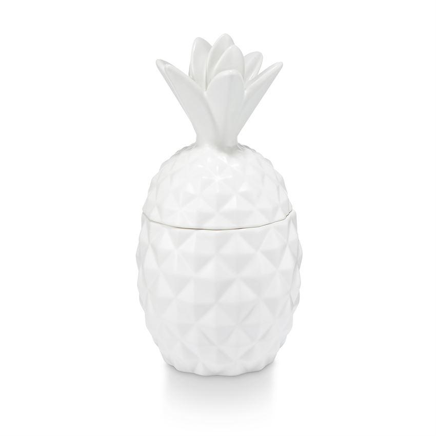 Ceramic Pineapple Candle - Pineapple Cilantro
