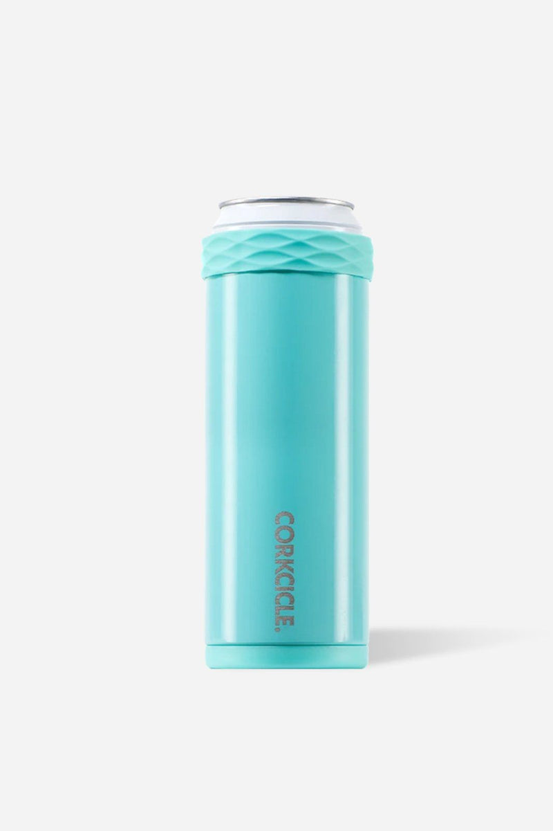 Corkcicle Slim Arctican - Gloss Turquoise - Shore