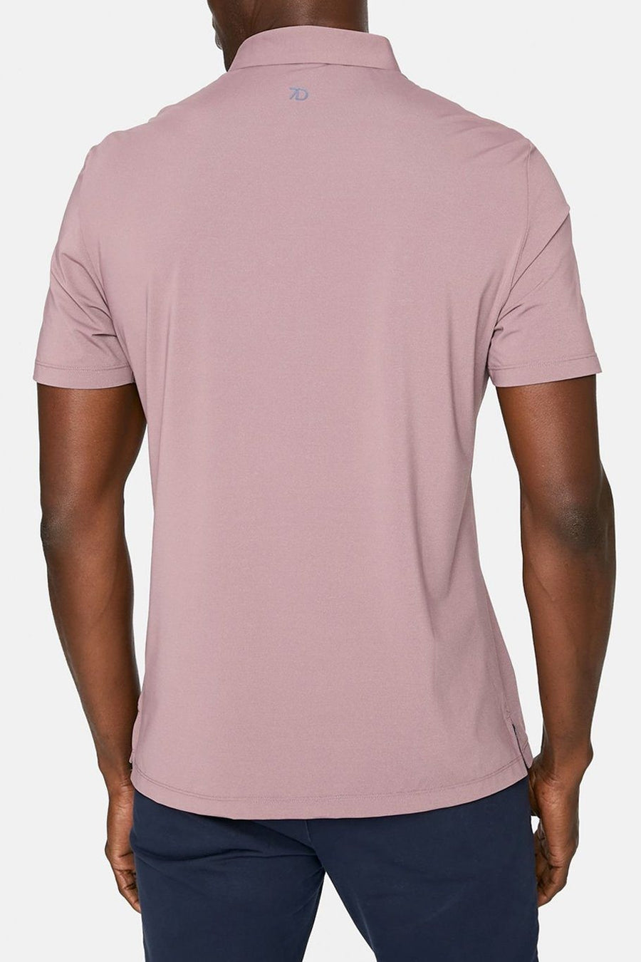 Albatross Seamless Performance Polo - Stone Rose - Shore
