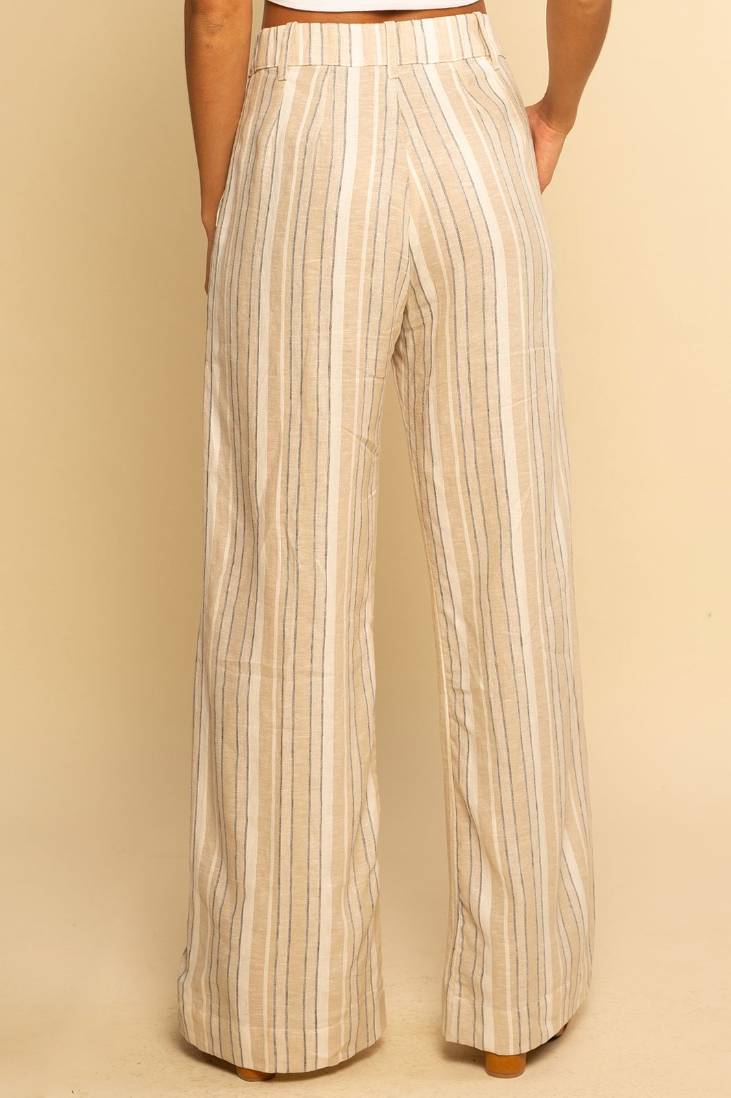 Trouser Pant - Sand Stripe - Shore