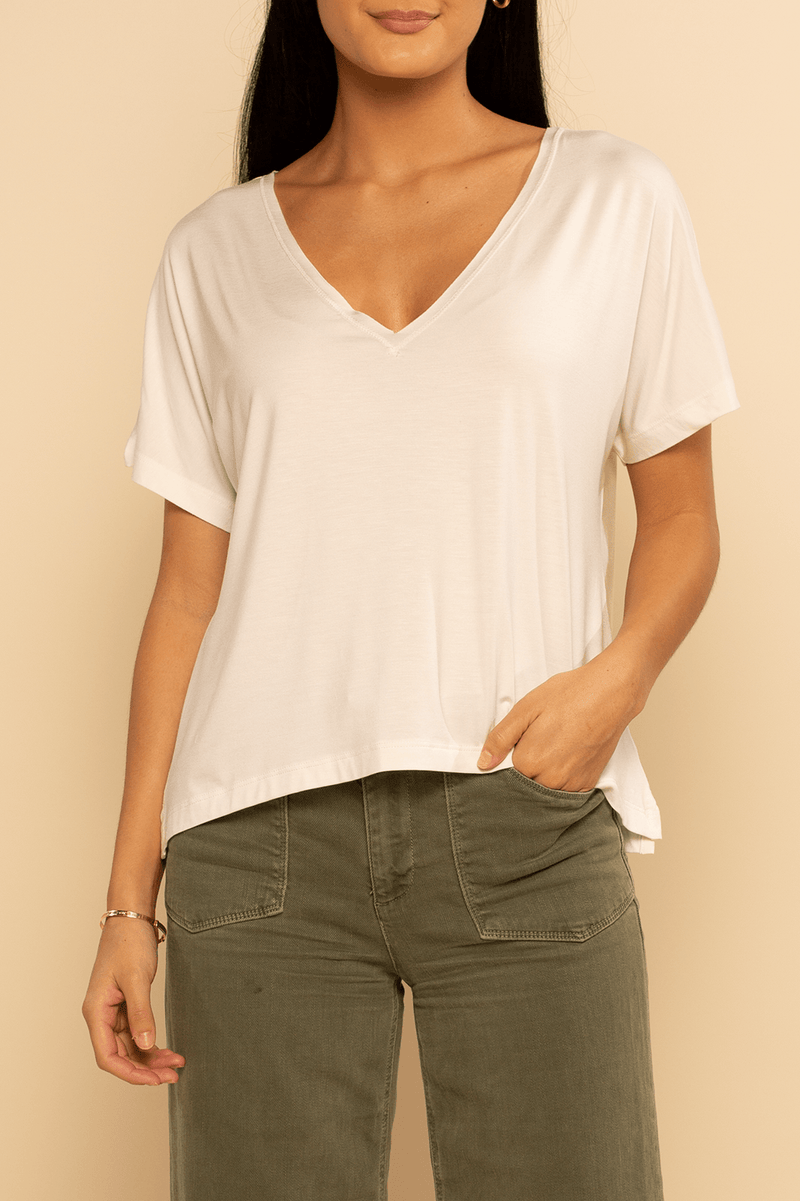 Boca Dolman Top - Ivory - Shore