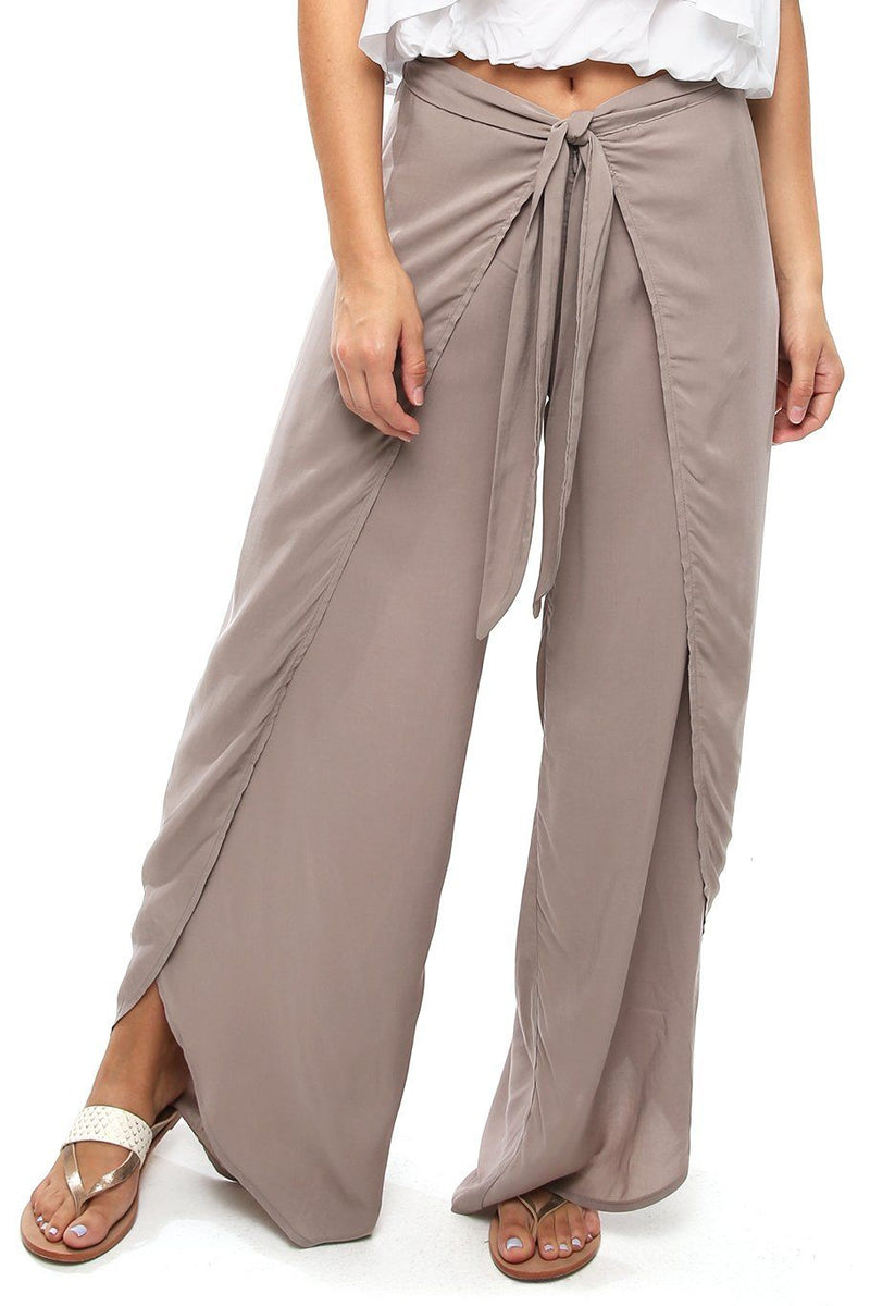 Bella Beach Pant - Oat - Shore