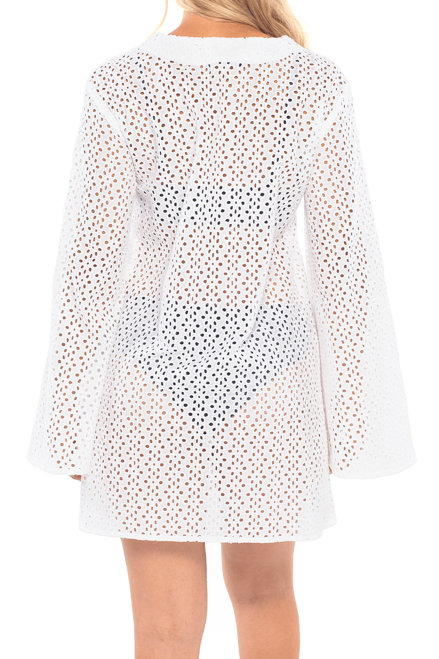 Milan Mini Dress - Floral Lace