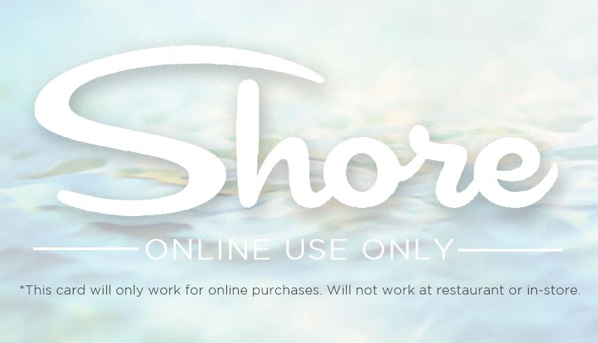 Online Shore Gift Card
