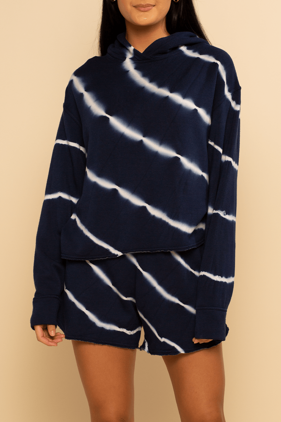 Montreal Pullover - Navy Stripe - Shore
