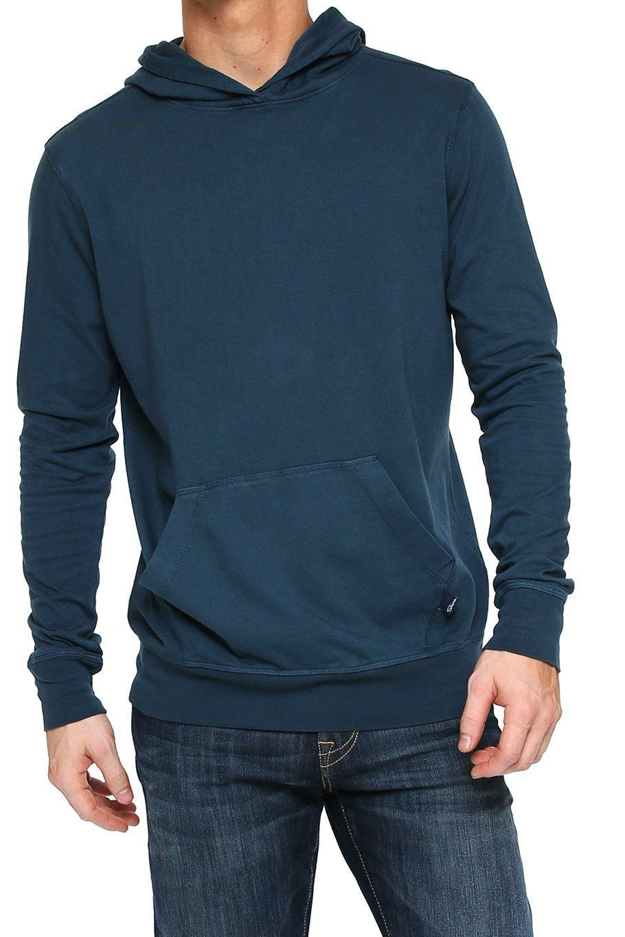 Supima Sueded Hoodie - Midnight - Shore