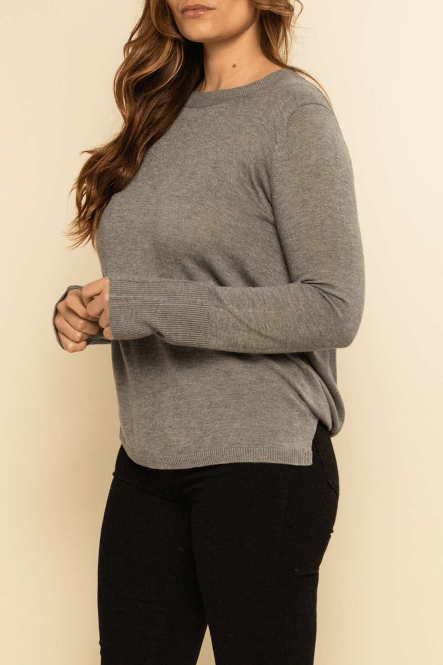 Jackson Hole Sweater - Grey - Shore