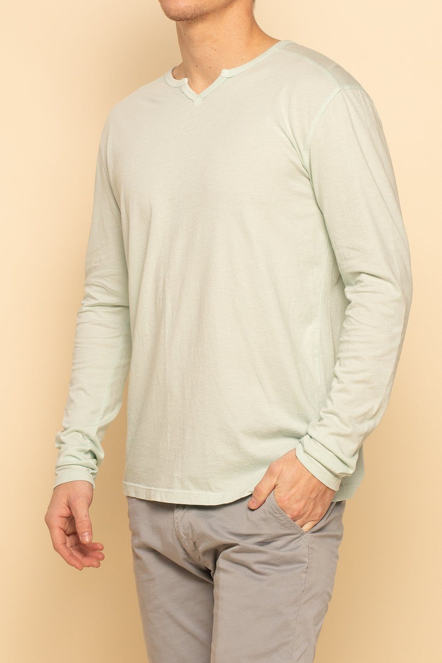 Sacramento Long Sleeve - Seafoam - Shore