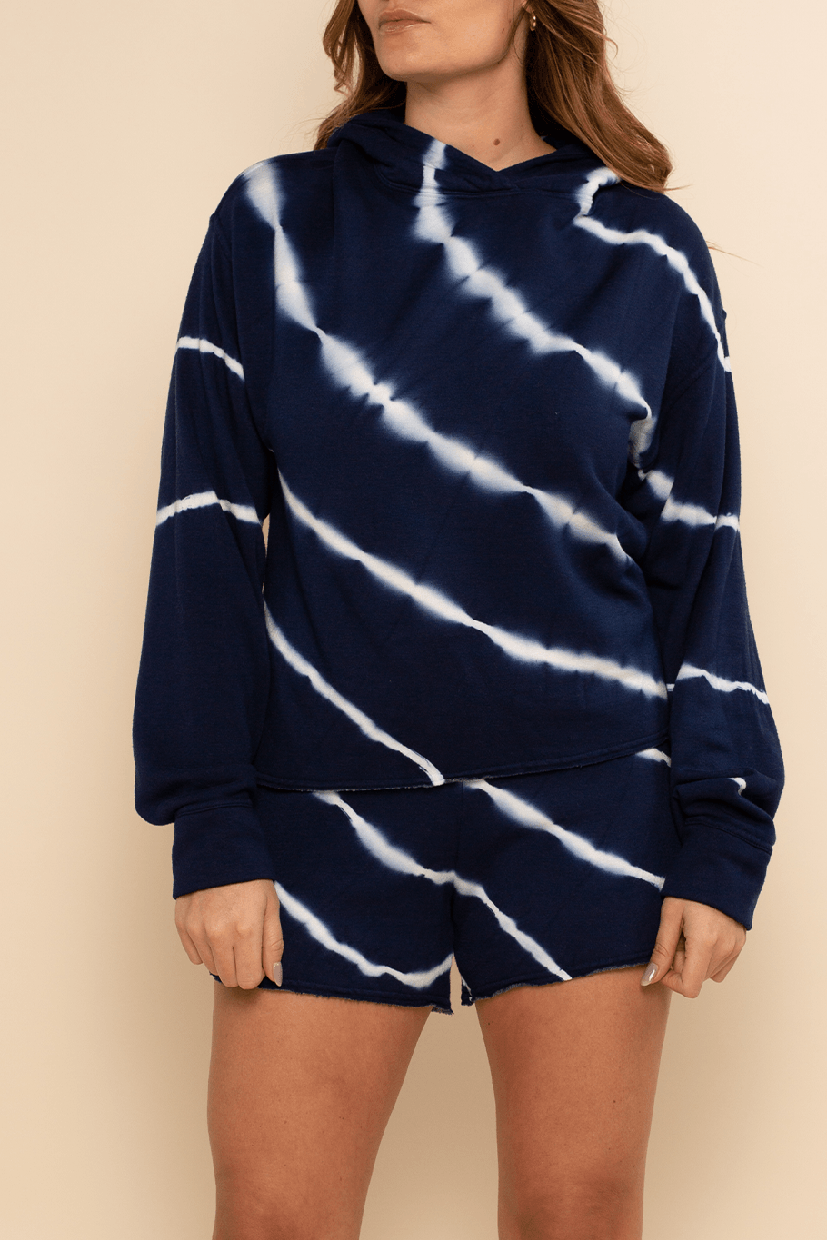 Lounge Short - Navy Stripe - Shore