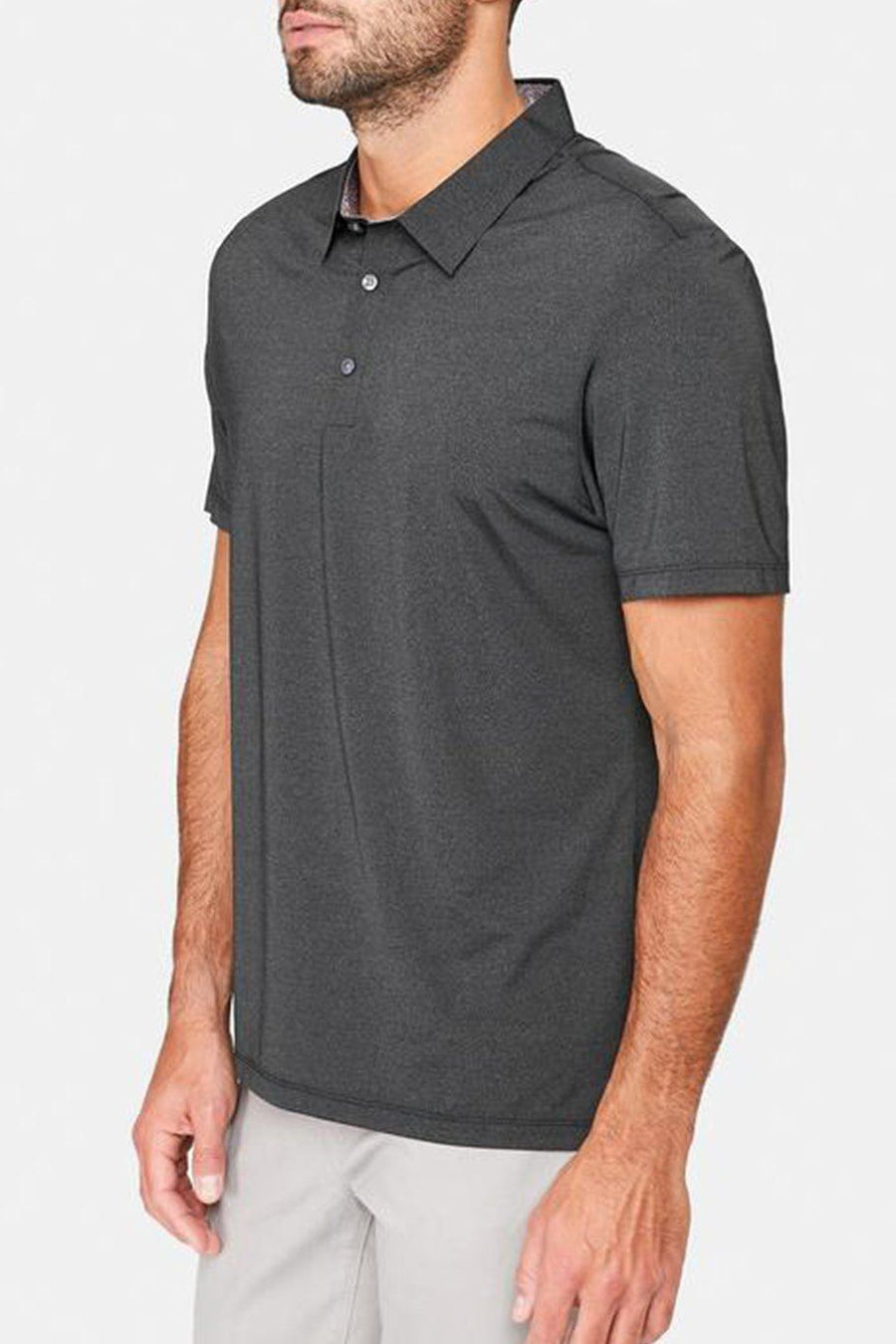 Albatross Seamless Performance Polo - Charcoal - Shore
