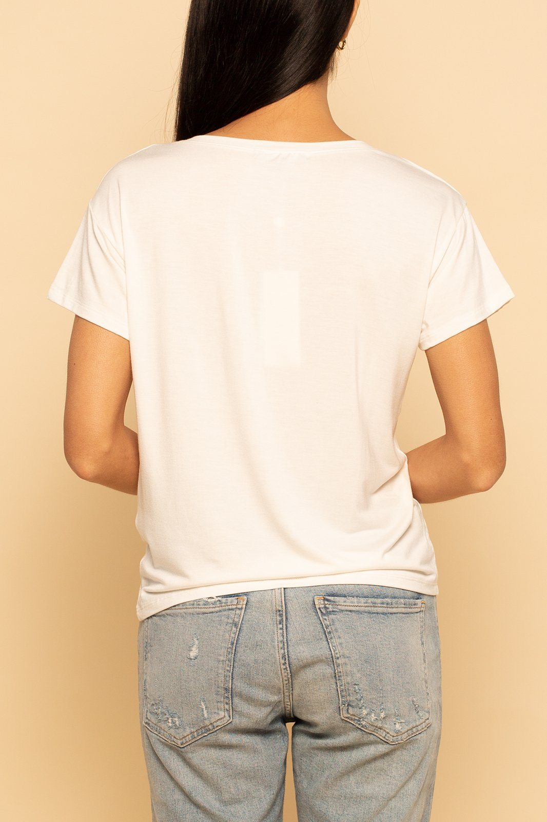 Pocket Tee - White - Shore